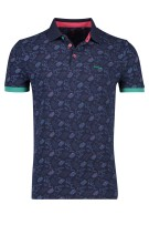 New Zealand polo Wairoa navy geprint