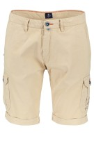 New Zealand Short Beige Effen Normale fit