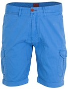 New Zealand Short Blauw Effen Normale fit