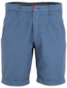 New Zealand short blauw motief