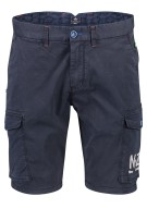 New Zealand Short Donkerblauw Effen Normale fit