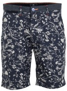 New Zealand Short Donkerblauw Print Normale fit