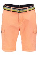 New Zealand Short Oranje Effen Normale fit