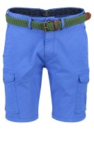 New Zealand shorts cargo Mission Bay riem blauw