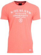 New Zealand T-shirt Oranje Effen Normale fit