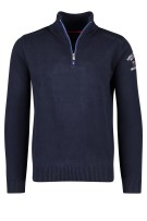 New Zealand Taupaki pullover navy