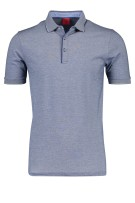 OLYMP Leve 5 poloshirt donkerblauw body fit
