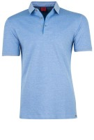 OLYMP Level Five polo blauw melange