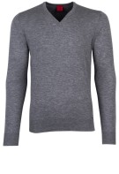 OLYMP Level Five pullover grijs melange