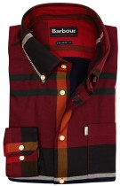 Overhemd Barbour tailored fit rood geruit