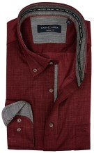 Overhemd Casa Moda casual fit bordeaux
