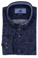 Overhemd Culture navy dessin Regular Fit