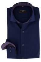 Overhemd Eterna Slim Fit navy