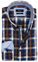 Overhemd Giordano Regular Fit button down geruit