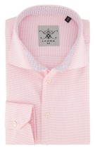 Overhemd Ledub Tailored Fit roze