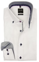 Overhemd Olymp button down wit modern fit