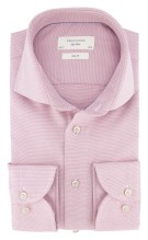 Overhemd Profuomo mouwlengte 7 roze slim fit