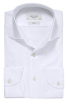 Overhemd Profuomo wit One Piece Collar