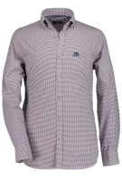 Overhemd State of Art roze motief button down