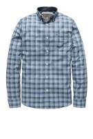 Overhemd Vanguard button down blauwe ruit