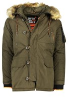 Parka jas Superdry army green