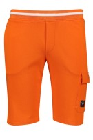 Paul & Shark joggingshort oranje