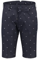 Paul & Shark korte broek vlaggenprint navy