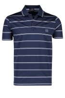 Paul & Shark polo borstzak wit navy gestreept
