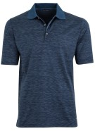 Paul & Shark polo donkerblauw melange