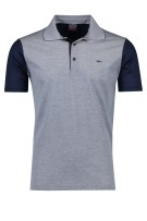 Paul & Shark polo donkerblauw wit geprint