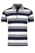 Paul & Shark polo donkerblauw wit gestreept