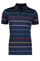 Paul & Shark polo katoen multicolor navy gestreept