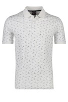 Paul & Shark polo wit met print