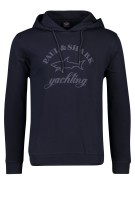 Paul & Shark sweater capuchon donkerblauw