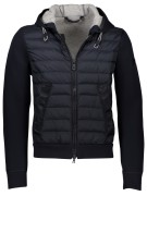 Peuterey Jack Donkerblauw Effen Normale fit