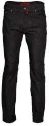 Pierre Cardin 5-Pocket Broek Deauville 3196 Zwart Stretch