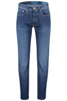 Pierre Cardin jeans 5-pocket blauw stretch