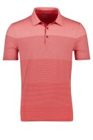Pierre Cardin Polo Shirt Rood Gestreept Normale fit