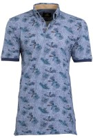 Polo Culture blauw motief button down
