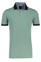 Polo Extra Lang Baileys Groen Print Normale fit