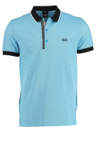 Polo Hugo Boss lichtblauw Big & Tall B-Paule