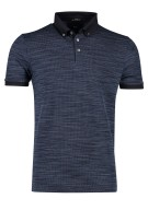 Polo Hugo Boss T-Peterson button down melange navy