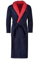 Polo Ralph Lauren Badjas Rood Donkerblauw Effen Normale fit