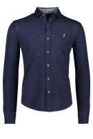 Polo Ralph Lauren Bonneterie LM Donkerblauw Gemêleerd Normale fit