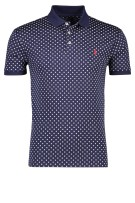 Polo Ralph Lauren Polo Shirt Donkerblauw Print Slim fit