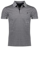 Polo Ralph Lauren Polo Shirt Grijs Gestreept Slim fit