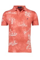 Polo Ralph Lauren Polo Shirt Rood Print Normale fit