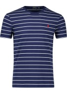 Polo Ralph Lauren T-shirt Donkerblauw Gestreept Normale fit