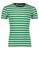 Polo Ralph Lauren T-shirt Groen Gestreept Slim fit