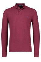 Polo Ralph Lauren Trui Bordeaux Effen Slim fit